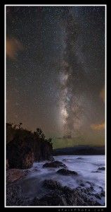 Celestine Prophecy - Milky Way over Kalihiwai, Kauai