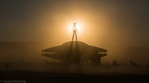The Man at Burning Man 2013