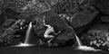 Rodin's Playground BW print