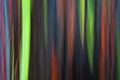 Rainbow Smear VI print
