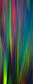 Rainbow Smear X print