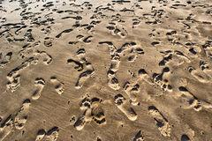 beach,feinberg,footprints,hanakapi'ai,hawaii,horizontal,kauai,landscape,sand