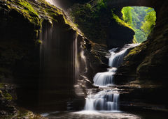 feinberg,horizontal,upstate ny,waterfalls,watkins glen