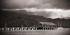feinberg,hanalei,hawaii,kauai,panorama,pier