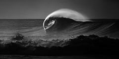 b&w,black and white,feinberg,horizontal,panorama,wave,b&w