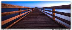 Aaron Feinberg, waimea pier, kauai, hawaii, horizontal, panorama, pano