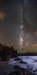 award,feinberg,kalihiwai,kauai,kilauea,milky way,panorama,stars,vertical