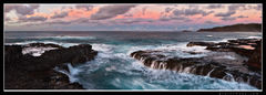 feinberg, secrets, beach, kilauea, lighthouse, panorama, panoramic, horizontal, kauai, hawaii, sunset, twilight, secrets beach