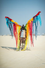 Aaron Feinberg, black rock city, burning man 2017, playa