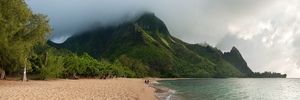 bali hai,beach,feinberg,hawaii,landscape,paradise,tunnels, photo