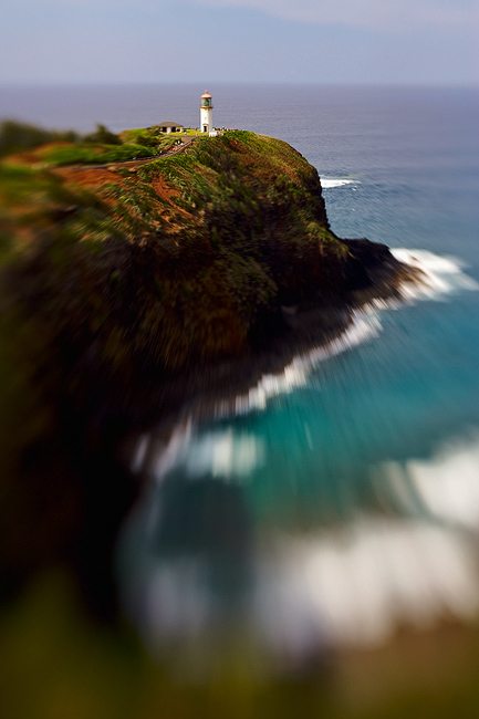 feinberg,kauai,kilauea,lensbaby,lighthouse,vertical, photo