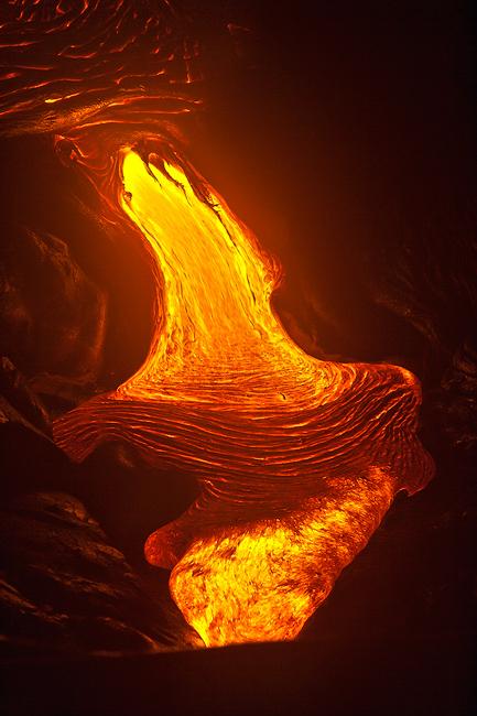 big island,feinberg,hawaii,lava,vertical, photo