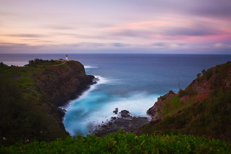 blue,feinberg,horizontal,lighthouse,purple,sunset, photo
