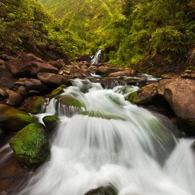 feinberg,green,kauai,river,rushing,square,waialeale,wailua river, photo