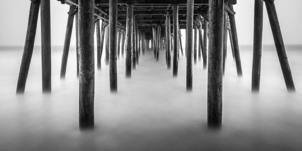 abstract,b/w,black and white,feinberg,maine,panorama,pier, old orchard, minimalist, bnw,