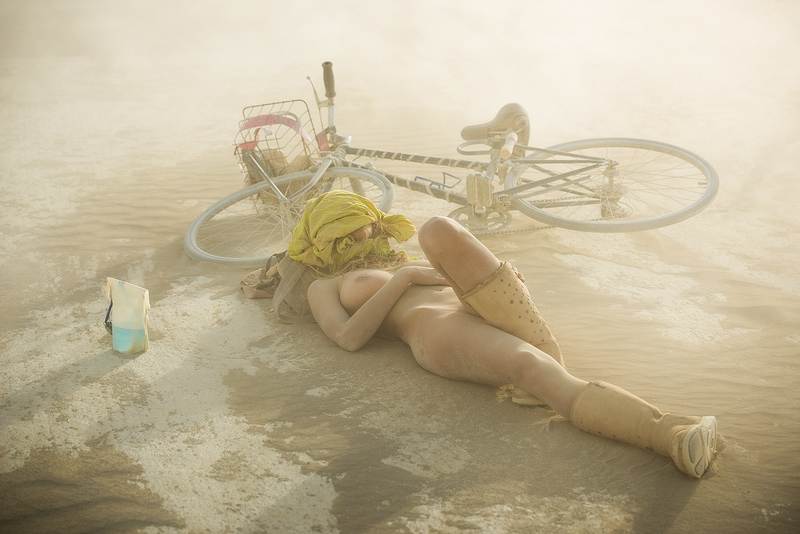 burning man,feinberg,nude, photo