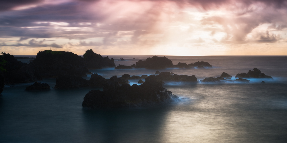 feinberg,hana,horizontal,maui,panorama,seascape,sunrise, photo