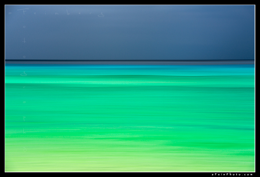 Aaron Feinberg, abstract, feinberg, green, horizontal, polihale, turquoise, photo