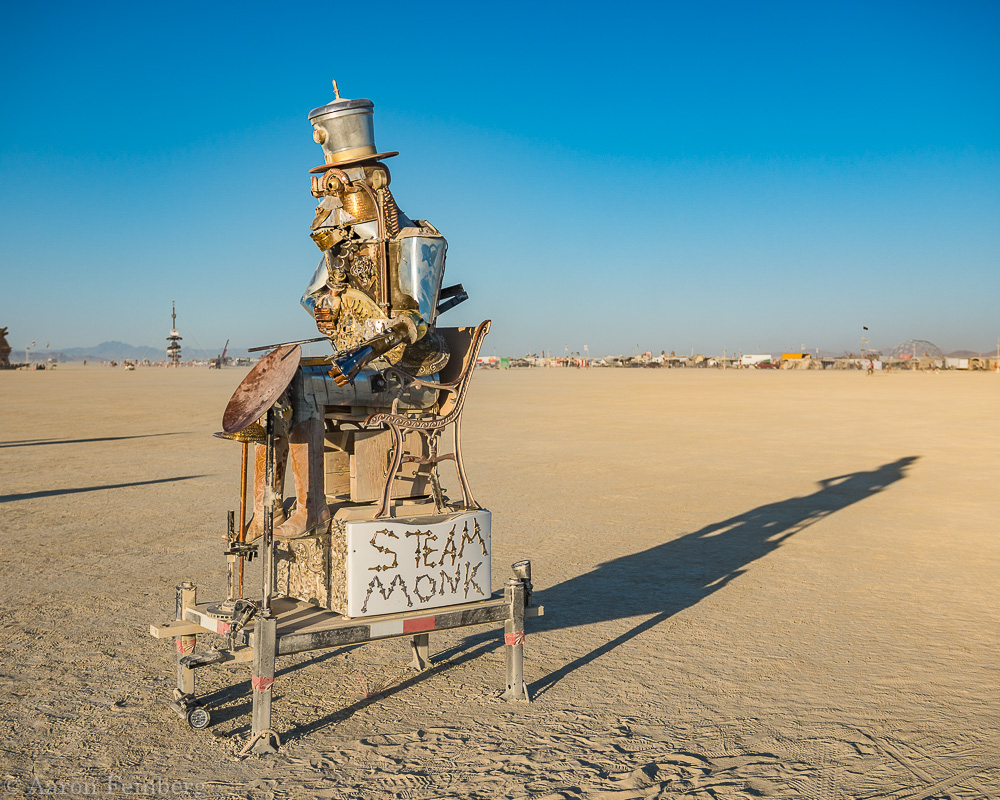 Aaron Feinberg, black rock city, brc, burning man, burning man 2018, feinberg, festival, in dust we trust, irobot, playa