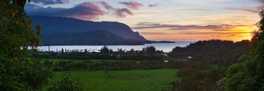 bali hai,feinberg,hanalei,kauai,panorama,princeville,sunstar, photo
