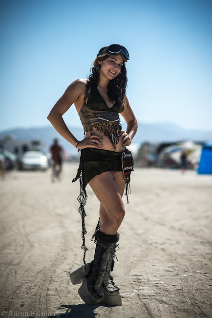 Playa Portraits 2012; Over the week spent at Burning Man there is one thing that is undeniable; the truly unique ability to pure...