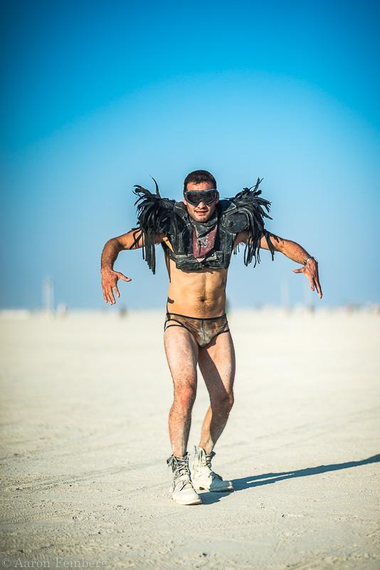 Aaron Feinberg, black rock city, burning man 2017, playa