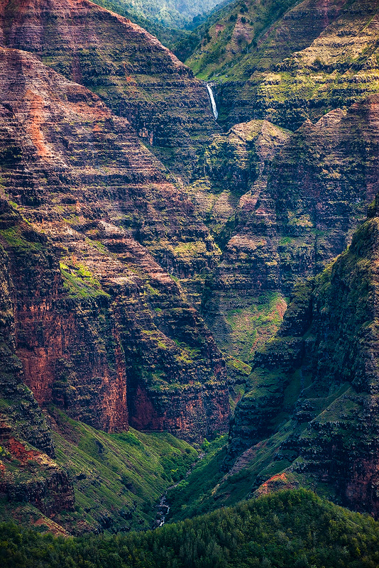 """Waimea Canyon, often misnomered as the """"Grand Canyon of the Pacific"""", a phrase that was actually never said, certainly can feel..."""