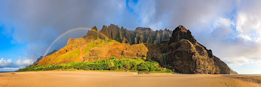 After arriving on the remote Kalalau Beach to not one footprint in the sand and nothing but wind ripples to ending the first...